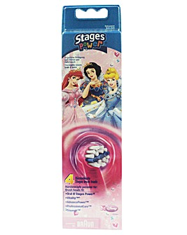 Oral B Pack of 4 Kids Disney Brush Heads
