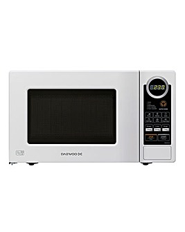 Daewoo 700W 20L Touch White Microwave