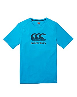 Canterbury Vapodri Large Logo T-Shirt