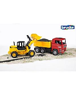 MAN TGA Construction Truck