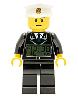 LEGO City Policeman Minifigure Clock