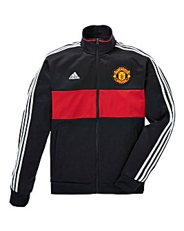 adidas MUFC 3 Stripe Track Top