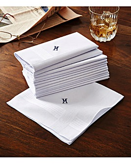 Gents Handerkerchiefs Pack of 13