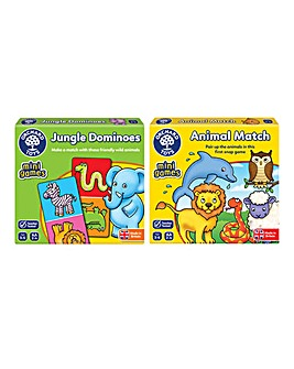 Pack of 2 Animal Travels