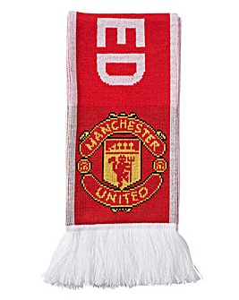 Manchester United Replica 3 Stripe Scarf
