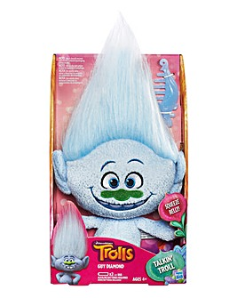 Trolls Talkin Plush - Guy Diamond