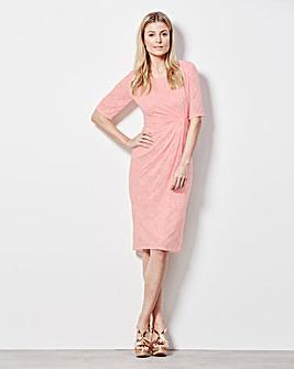 Lace Twist Knot Dress
