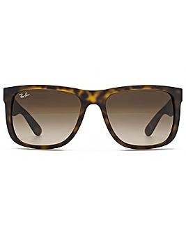 Ray-Ban Justin Sunglasses Matte Havana