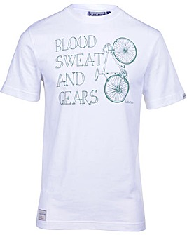 Brakeburn Blood Sweat And Gears Tee