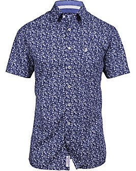 Brakeburn Floral Short Sleeved Shirt