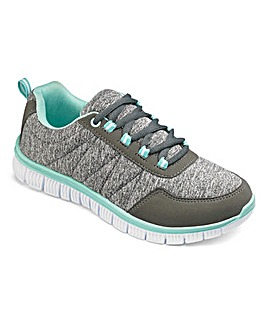 Cushion Walk Lace Up Trainers