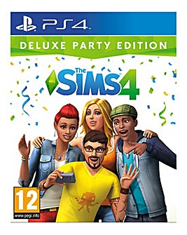 The Sims 4 Deluxe Party Edition PS4