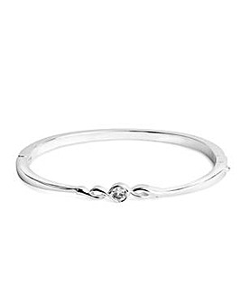 Jon Richard Crystal Twist Bangle