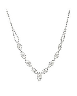 Jon Richard Lydia Diamante Necklace