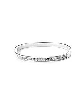 Jon Richard Crystal Channel Bangle