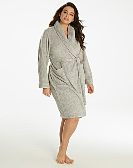 Pretty Secrets Soft Marl Fleece Gown