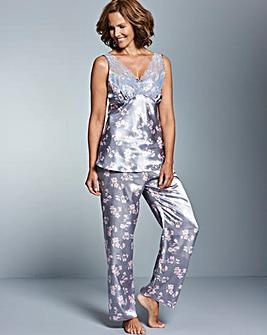Pretty Secrets Lace Detail Pyjama Set