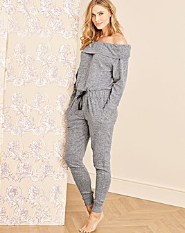 Pretty Secrets Knitted Bardot Jumpsuit