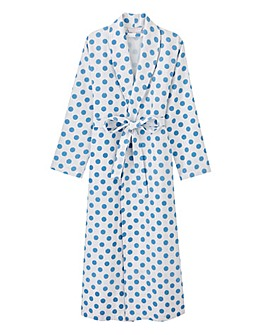 Pretty Secrets Printed Waffle Gown