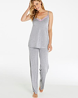Pretty Secrets Viscose Cami Pyjama Set