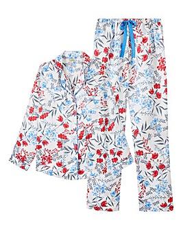 Pretty Secrets Satin Pyjama Set