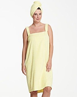 Pretty Secrets Towelling Wrap & Turban