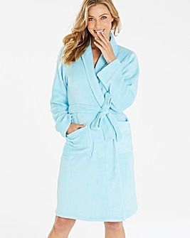Pretty Secrets Fluffy Fleece Gown