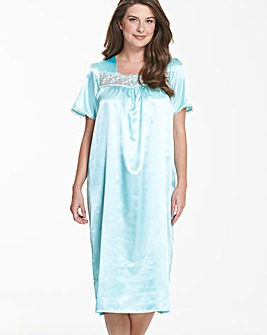 Pretty Secrets Satin Nightdress L44