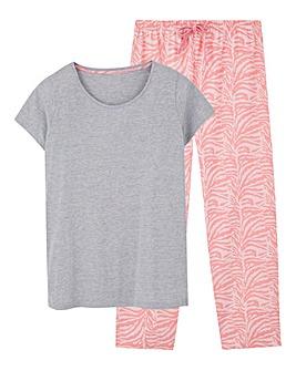 Pretty Secrets Capri Pyjama Set
