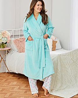 Pretty Secrets Fleece Waffle Gown