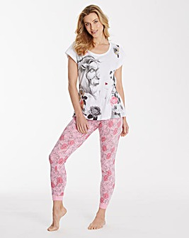 Disney Beauty and The Beast Legging Set