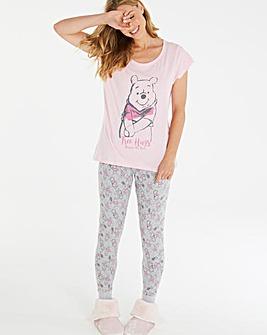 Winnie The Pooh Valentines Legging Set