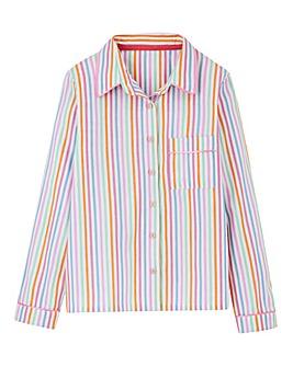 Pretty Secrets Button Front Pyjama Top