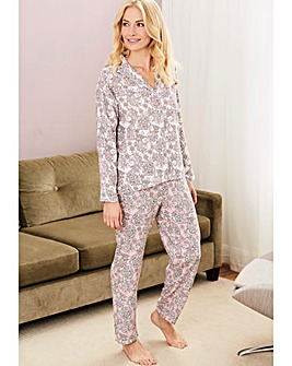Pretty Secrets Contrast Print Pyjama Set