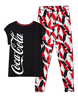 Coca Cola Legging Pyjama Set
