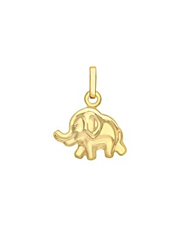 9Ct Gold Mini Elephant Charm