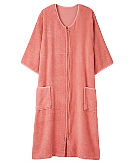 Pretty Secrets Towelling Zip Gown