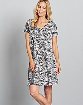 Pretty Secrets Printed Nightie 36""