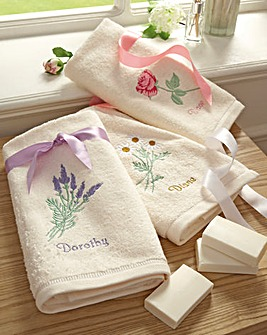 Hand Towel and Soap Set