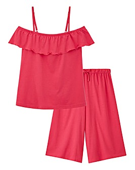 Pretty Secrets Culotte Pyjama Set