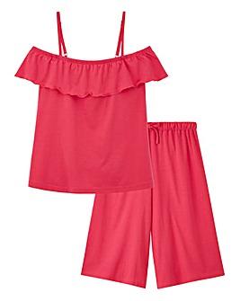 Pretty Secrets Culotte Pyjama Set