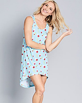 Pretty Secrets Dipped Hem Nightie
