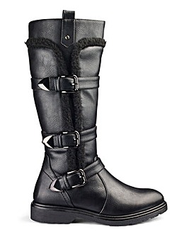 Heavenly Soles Boots EEE Standard Calf