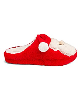 Heavenly Soles Santa Slippers E Fit