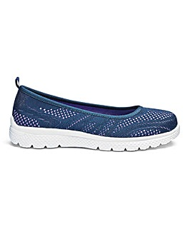 Cushion Walk Leisure Ballerinas E Fit