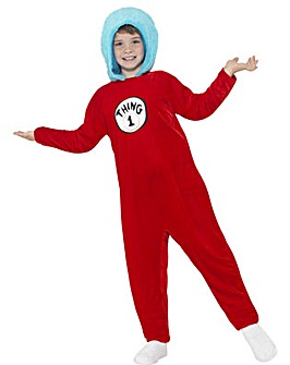 Dr Seuss - Thing 1 or 2 Costume