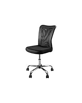 Reade Mesh Gas Lift Office Chair Black