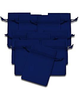 Organza Favor Bags Royal Blue x 10