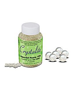 Crystalite Aqua Gel Pearls 100 gm Clear