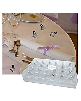 Wedding Favors Bubbles Diamond x 24